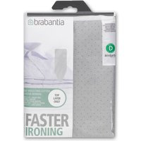 Brabantia Ironing Board Cover, Silver, Silver