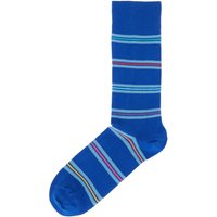 Men's Paul Smith Blanket Stripe Sock, Blue