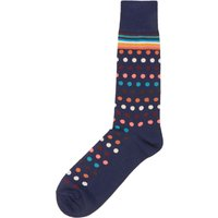 Men's Paul Smith Artist Polka Dot Sock, Blue