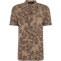 Men's Religion Printed Revere Collar Shirt, Mushroom - Mushroom Gifts