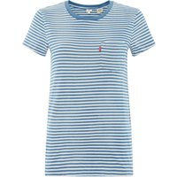 Levi's The Perfect Pocket Stripe Tee, Blue