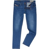 Men's Diesel Thommer 84rm Slim Fit Jeans, Denim Mid Wash