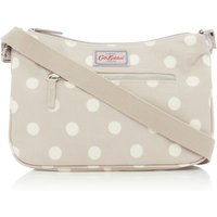 Cath Kidston Button spot curve cross body, Taupe