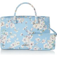 Cath Kidston Wellesley blossom the thistleton small tote, Light Blue