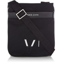 Versace VJ Cross Body Bag, Black