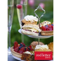 Red Letter Days Champagne Afternoon Tea for Two, Red