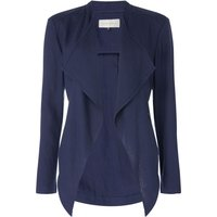 Maison De Nimes WATERFALL LINEN JACKET, Blue