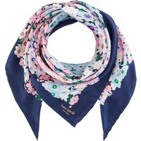 Kate Spade New York Daisy garden floral silk square scarf, Multi-Coloured - Garden Gifts