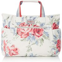 Cath Kidston Large Birthday Rose Carry All Changing Bag, Cream