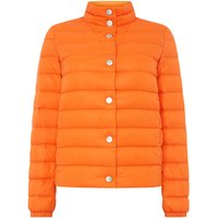 Hugo Boss Padded jacked with button detail and bag, Orange