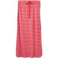 Joules Jersey Stripe Maxi Skirt With Tie, Coral