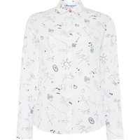 PS By Paul Smith Pauls sketch shirt, White