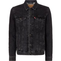 Men's Levi's Denim Trucker Jacket, Black