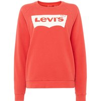 Levi's Relaxed Graphic Print Crew Neck, Red