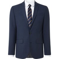 Men's Kenneth Cole Waldorf Slim Fit Micro Grid Check Suit Jacket, Blue