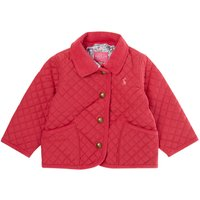 Joules Kids Mabel Quilted Jacket, Pink
