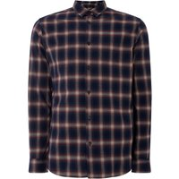 Men's Selected Homme Ombre Large Check Shirt, Blue