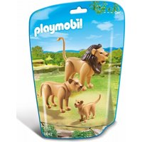 Playmobil City Life Lion Family 6642