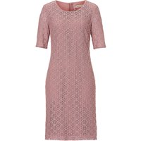 Betty Barclay Short sleeved lace dress, Red