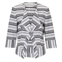 Betty Barclay Textured stripe jacket, White