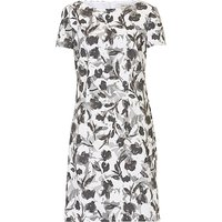 Betty Barclay Floral print shift dress, Grey