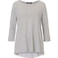 Betty Barclay Oversized double-layer jumper, Light Grey Marl