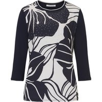 Betty Barclay Embellished Print Top, Multi-Coloured