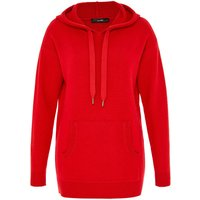 Hallhuber Hooded Jumper With Kangaroo Pouch, Red - Kangaroo Gifts