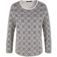 Olsen Pullover Long Sleeves, White
