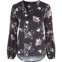 Jane Norman Floral Printed Blouse, Multi-Coloured
