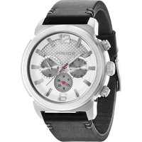 police gents concept strap watch, black
