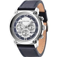 police gents armor strap watch, blue