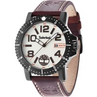 timberland gents hyland brown  watch, dark brown