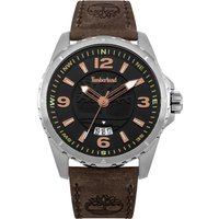 timberland walden watch, brown