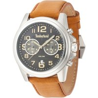 timberland gents pickett strap watch, brown