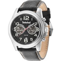timberland gents pickett black  strap watch, black