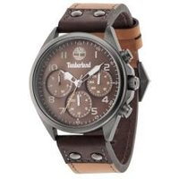 timberland wolcott watch, brown