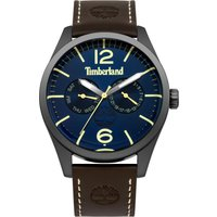 timberland middleton watch, brown
