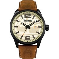 timberland ellsworth watch, brown