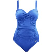 SUNSEEKER solid rouge cup sized classic swimsuit, Blue