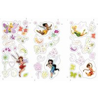 Graham & Brown Fairies Small Wall Sticker, Brown - Art Gifts