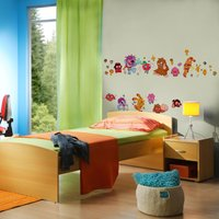 Graham & Brown Moshi Monsters Wall Stickers, Brown