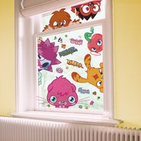 Graham & Brown Moshi Monsters Static Window Stickers, Brown