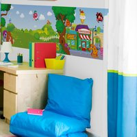 Graham & Brown Moshi Monsters Interactive Wall Panel, Brown