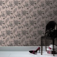 Graham & Brown Mushroom juliet wallpaper, Brown - Mushroom Gifts