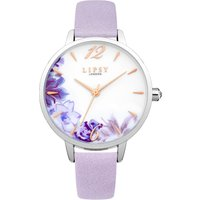 lipsy ladies strap watch, purple