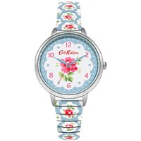 cath kidston provenance expander watch, blue