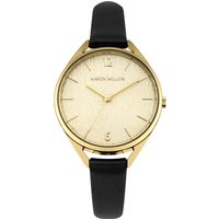 karen millen ladies strap watch, black