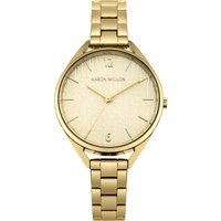 karen millen ladies bracelet watch, gold