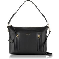 Radley Northcote road medium ziptop multi bag, Black
